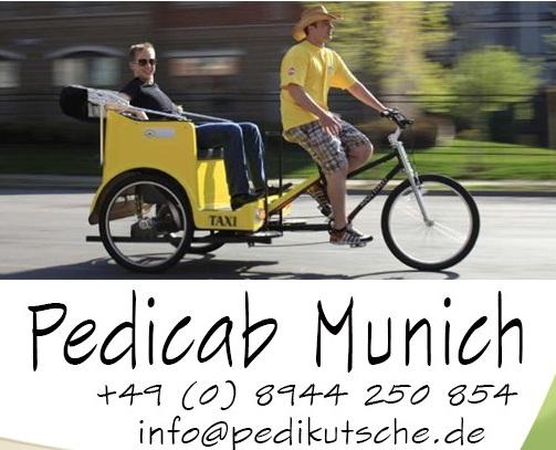 pedicab-munich - rikschas mieten - pedikutsche.de